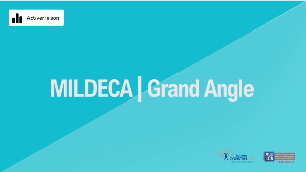 MILDECA | Grand angle - CONSTANCES #3 : Alcool, tabac, cannabis : Consommations et conditions de travail