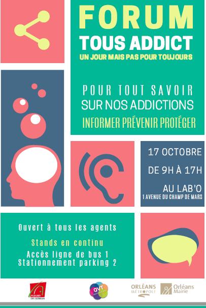 Forum à Orléans: «Tous addict, un jour, mais pas pour toujours»