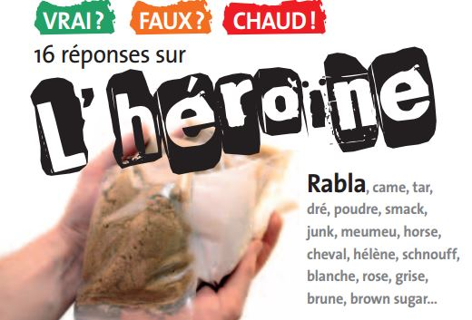 Addiction Autres drogues - 16 réponses sur l'héroïne