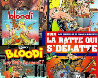 Bloodi – intégrale tome 1 à 5 + bonus
