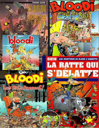 Addiction  - Bloodi – intégrale tome 1 à 5 + bonus