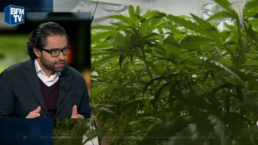 "Addiction Cannabis - Cannabis : ""La responsabilité n'est pas la prohibition"", estime l'addictologue Amine Benyamina"