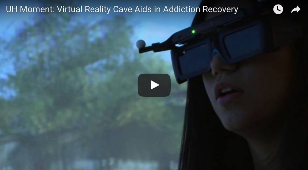 Addiction  - La réalité virtuelle, outil thérapeutique pour soigner l'addiction