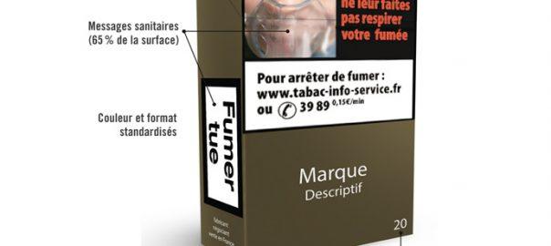Le paquet neutre est mis en place en France