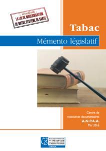 memento legislatif tabac