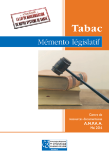 Addiction Tabac - Mémento législatif Tabac