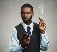 Addiction Tabac - TABAC / Arrêter de fumer grâce à votre smartphone, c'est possible !
