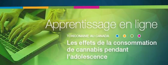 Addiction Cannabis - Apprentissage en ligne sur les effets de la consommation de cannabis pendant l'adolescence