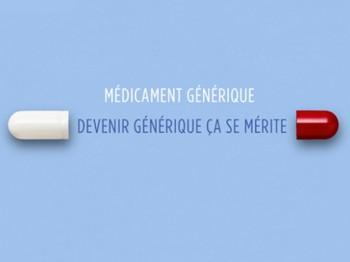 Addiction Médicaments - Nouvelle campagne de promotion des génériques