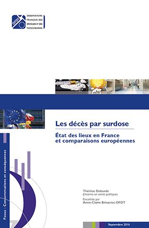 Addiction Autres drogues - Les décès par surdose en France - État des lieux et comparaisons européennes