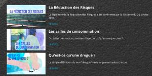 Addiction Autres drogues - DROGUE / Webdoc sur la RDR «A consommer avec modération?»