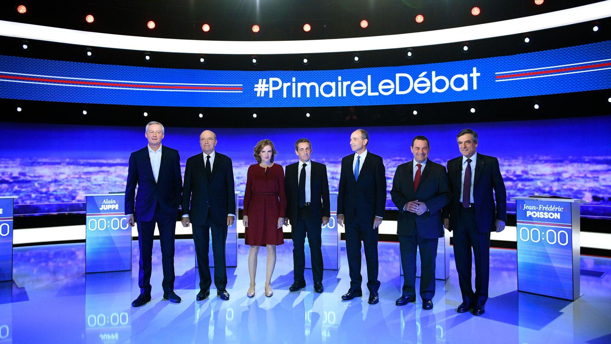 les-candidats-a-la-primaire-de-droite-au-debut-du-premier-debat-a-la-plaine-saint-denis-pres-de-paris-le-13-octobre-2016_5725617