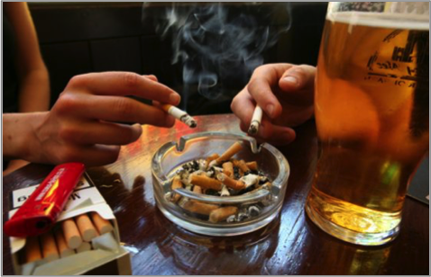 Addiction Tabac - Les « fumeurs de soirée » se sentent-ils fumeurs?