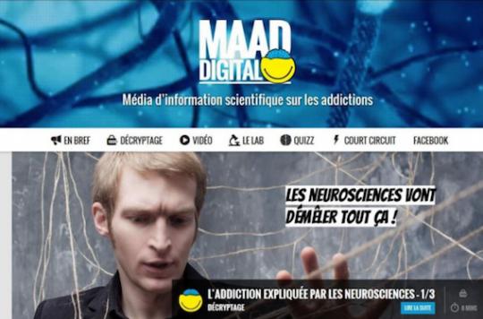 Addiction Alcool - ADDICTIONS / l'Inserm et la MILDECA lancent un site web dédié aux ados