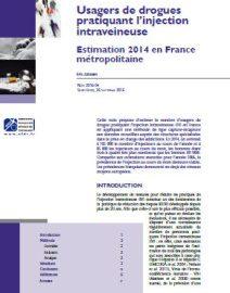 Usagers de drogues pratiquant l'injection intraveineuse – Estimation 2014 en France métropolitaine