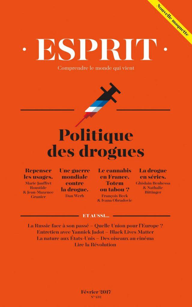 """Addiction  - Revue / Esprit n°432 """"La politique des drogues"""""""