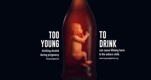 Addiction Alcool - ALCOOL / La consommation pendant la grossesse modifie le visage des fœtus