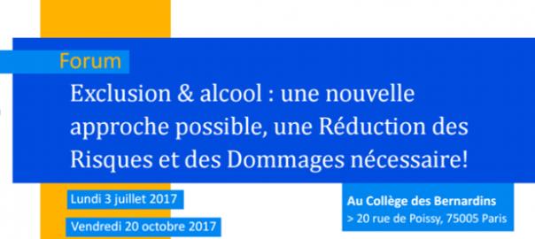 Exclusion & alcool : une nouvelle approche possible