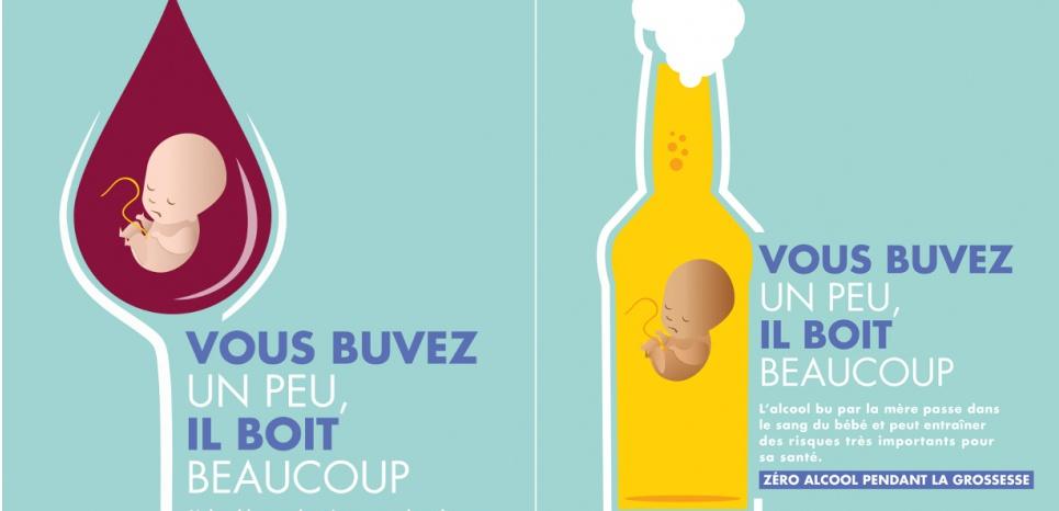 Addiction Alcool - ALCOOL / Y'a t'il un lien entre consommations modérées et Syndrome d'Alcoolisation Fœtale