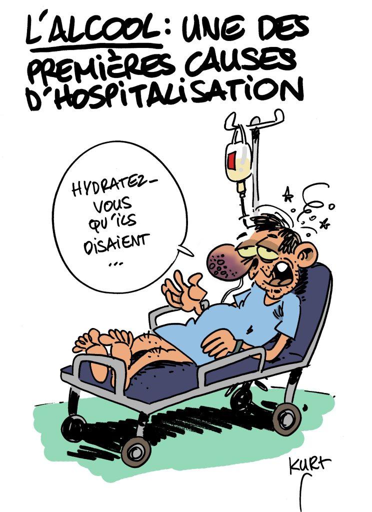 Addiction Alcool - ALCOOL / Risque de réhospitalisation chez les personnes admises en service d'urgences pour alcoolisation aigue