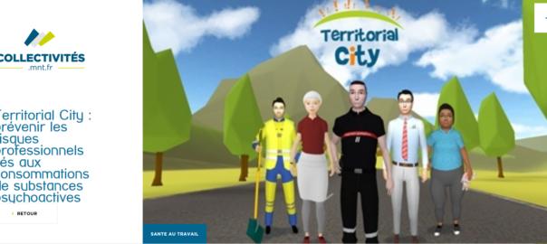 Territorial City : un serious game pour prévenir les conduites addictives et contribuer à la santé au travail dans les collectivités