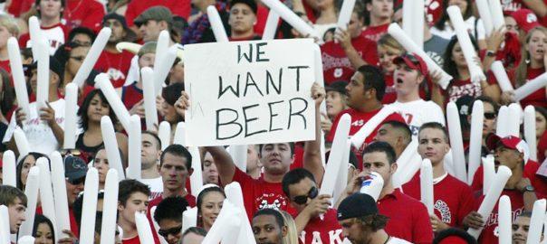 L'alcool, mauvais public dans les stades sportifs
