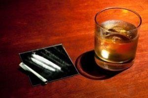 Alcool et cocaine : le cerveau trinque