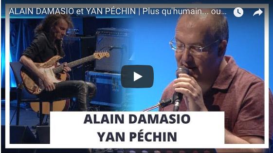 """Addiction Autres drogues - Lecture-concert / """"Plus qu'humain… ou plus humain ?"""" de Alain Damasio et Yan Péchin"""