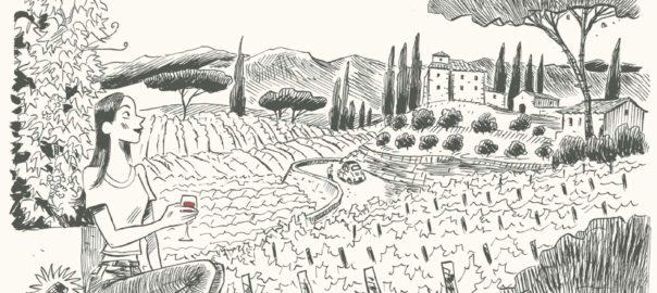 Bande dessinée / L'incroyable histoire du vin de Benoist Simmat et Daniel Casanave