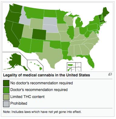 Addiction Cannabis - Les états qui ont légalisé le cannabis aux USA ont moins de problèmes de mésusage d'opioïdes antalgiques, retrouve une étude parue dans Addiction.
