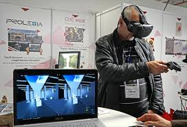 Addiction Alcool - 8 Trophées de la Fondation de l'Avenir, présentation des candidats pour le trophée e-médecine : 4 Casque réalité virtuelle