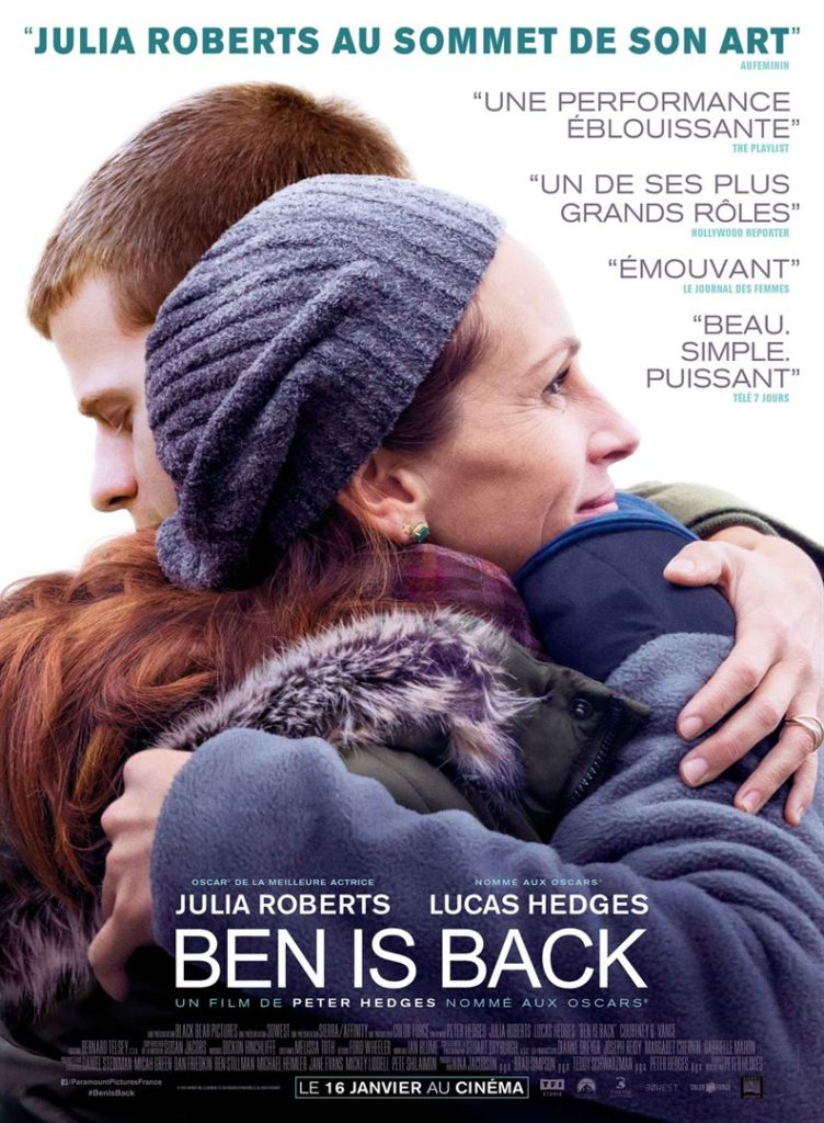 "Addiction Autres drogues - ""Ben is back"" Un film de Peter Hedges"