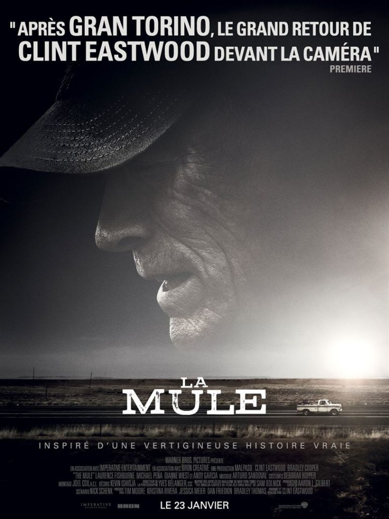 "Addiction Autres drogues - ""La mule"" Un film de Clint Eastwood"