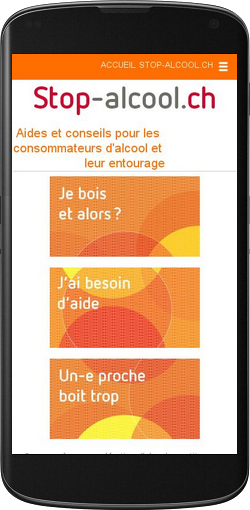 Addiction Alcool - Découvrez l'application Stop-Alcool.ch
