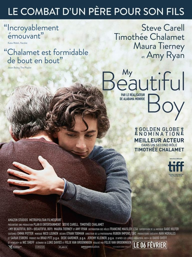 "Addiction Autres drogues - ""My beautiful Boy"" - Un film de Felix Van Groeningen"