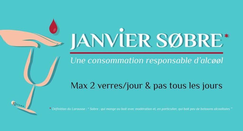 Addiction Alcool - Janvier Sobre : fierté pour l'année !