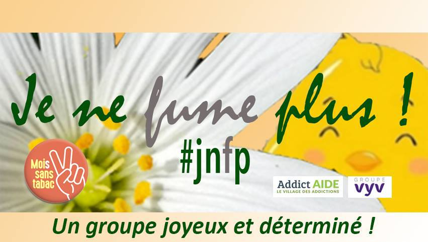 Addiction Tabac - Addict'Aide et JeNeFumePlus! se mobilisent pour le Moi(s) Sans Tabac