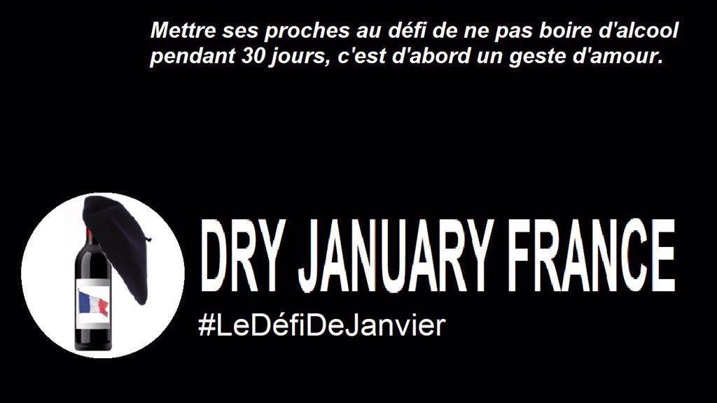 Addiction Alcool - Dry January : d'autres l'ont réussi, pourquoi pas nous ? #LeDéfiDeJanvier