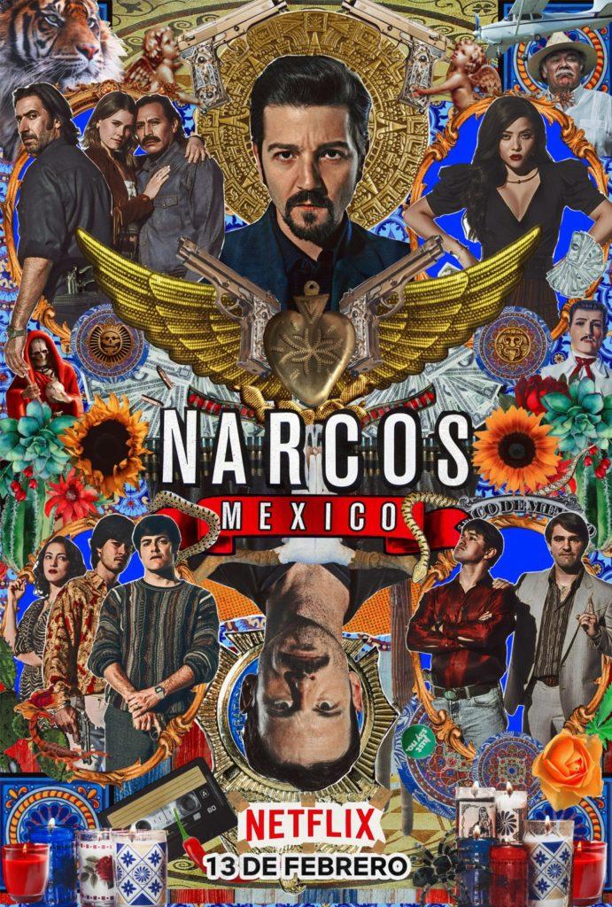 """Addiction Autres drogues - """"Narcos Mexico (saison 2)"""" - Une série Télévisée de Carlos Bernard et Doug Miro"""