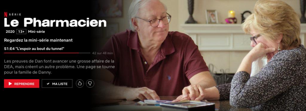 """Addiction Autres drogues - """"Le pharmacien"""", une mini-série documentaire diffusée sur Netflix"""