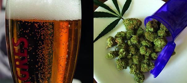 Alcool et cannabis, un mélange explosif !