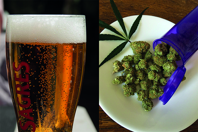 Addiction Alcool - Alcool et cannabis, un mélange explosif !