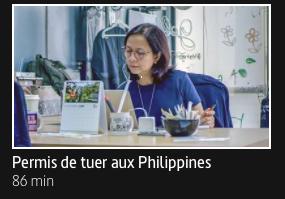 """Addiction Autres drogues - """"Permis de tuer aux Philippines"""" - Enquête télévisée de Marc Wiese - Diffusion ARTE"""
