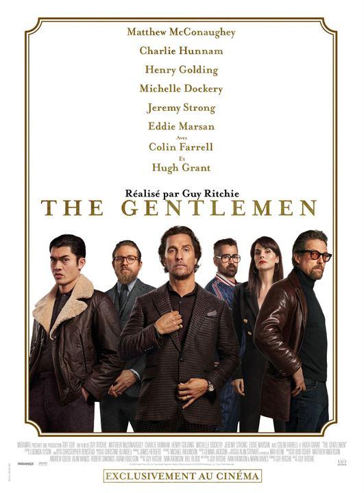 """Addiction Cannabis - """"The Gentlemen"""" - Un film de Guy Ritchie - Sortie DVD VOD"""
